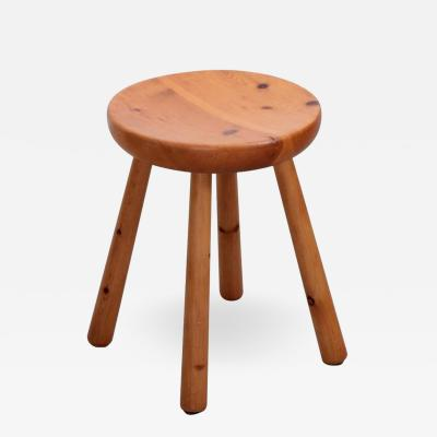 Charlotte Perriand Charlotte Perriand Les Arcs Stool in Pine circa 1965