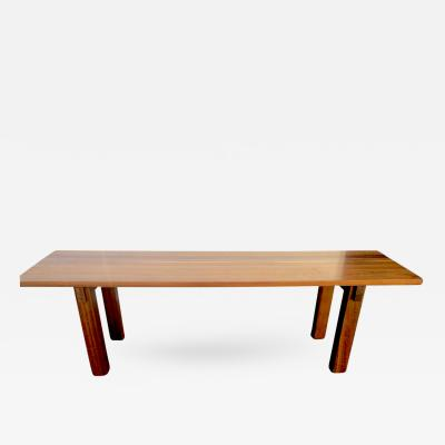 Charlotte Perriand Charlotte Perriand Mahogany Long Dining Table Model Brazil Stamped Ed Sentou