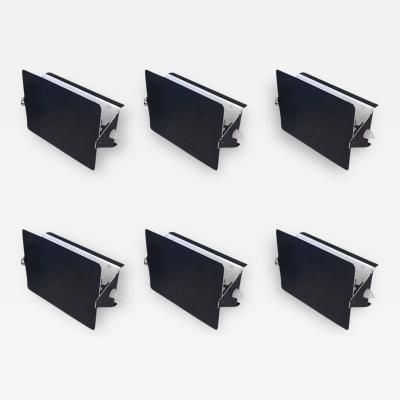 Charlotte Perriand Charlotte Perriand Suite of Six Black Sconces Model CP1 Circa 1960