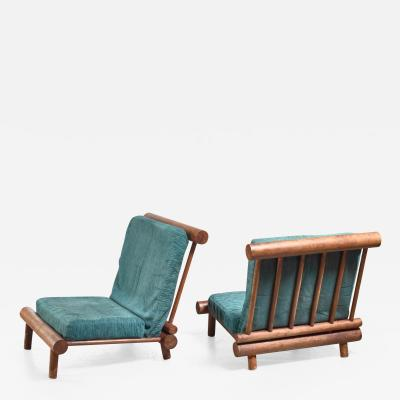 Charlotte Perriand Charlotte Perriand chairs from Les Arcs