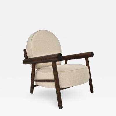 Charlotte Perriand Charlotte Perriand for Hotel La Cachette Les Arcs lounge chair
