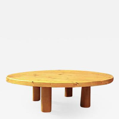 Charlotte Perriand Charlotte Perriand for Les Arcs stunning big pine coffee table