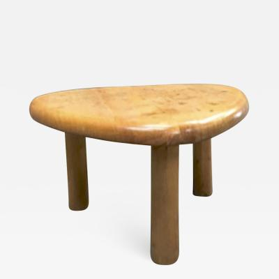 Charlotte Perriand Charlotte Perriand for Meribel tripod pine coffee table