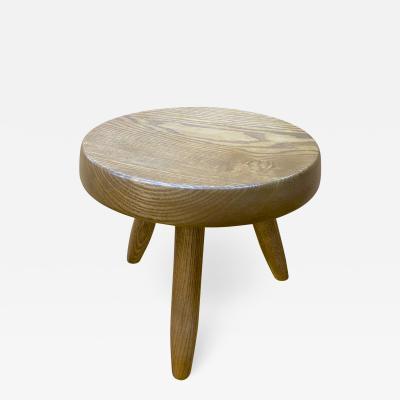 Charlotte Perriand Charlotte Perriand genuine ashtree tripod stool model berger