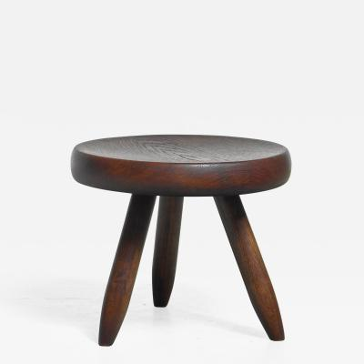 Charlotte Perriand Charlotte Perriand low tripod stool France 1950s