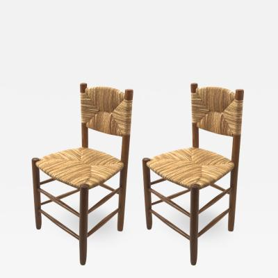 Charlotte Perriand Charlotte Perriand pair of model Bauche chairs