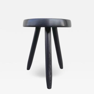 Charlotte Perriand Charlotte Perriand rarest black tripod Berger high stool