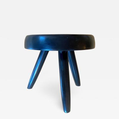 Charlotte Perriand Charlotte Perriand rarest black tripod model berger stool