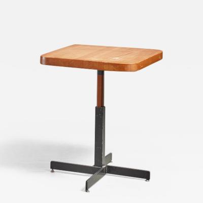 Charlotte Perriand Charlotte Perriand small height adjustable table 1960s