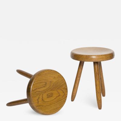 Charlotte Perriand Charlotte Perriand stools for Steph Simon circa 1950