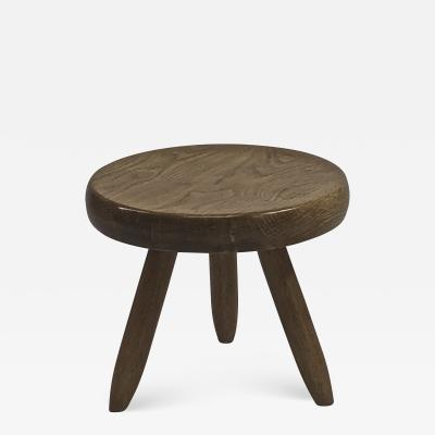 Charlotte Perriand Charlotte Perriand tripod ash tree berger stool in genuine condition