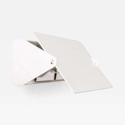 Charlotte Perriand Large Charlotte Perriand Applique Volet Pivotant Double Wall Lights in White