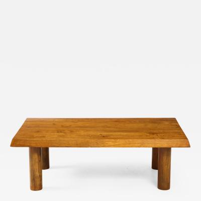 Charlotte Perriand Mid Century French Oak Coffee Table