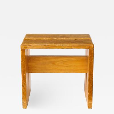 Charlotte Perriand Mid Century Natural Pine Les Arcs Stools by Charlotte Perriand France c 1960