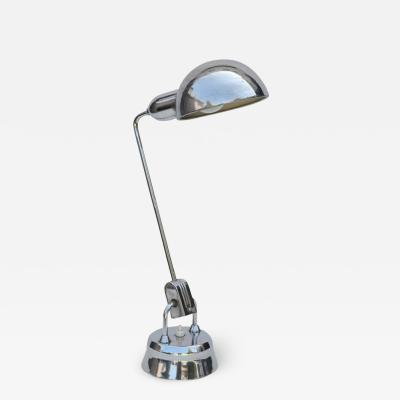 Charlotte Perriand Original Jumo 600 Chrome Lamp Selected by Charlotte Perriand