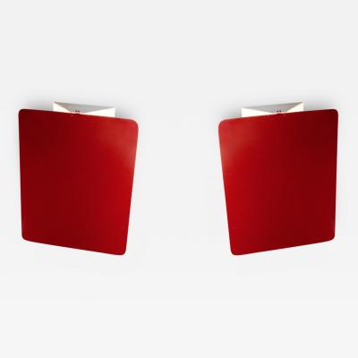 Charlotte Perriand Pair of CP1 Wall Sconces by Charlotte Perriand