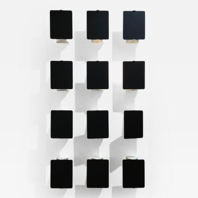 Charlotte Perriand Set of Twelve Charlotte Perriand Sconces 1970s