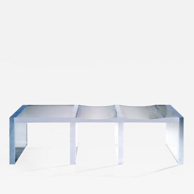 Charly Bounan Ghost Altuglas Bench by Charly Bounan