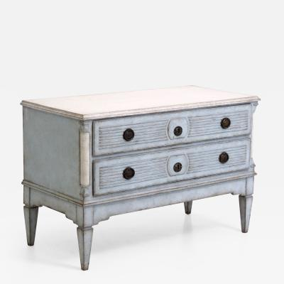 Charming Gustavian chests 18th Century