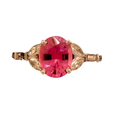 Charming Pink Spinel Ring