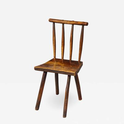 Charming Rustic Diminutive Windsor Chair