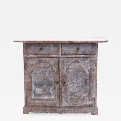 Charming little Swedish sideboard circa 1790 1810