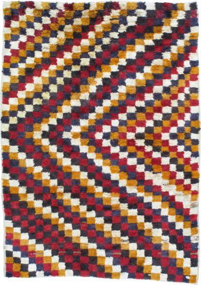 Checkerboard Tulu Rug DK 80 69