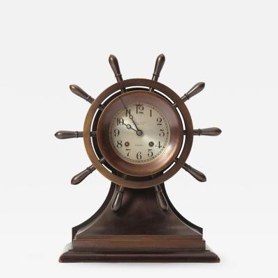 Chelsea Clock Co Nautical Clock By Chelsea Clock Company
