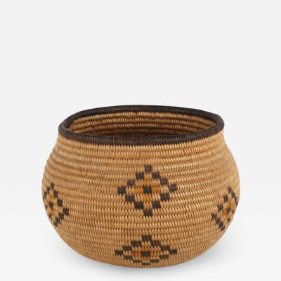 Chemehuevi miniature basketkry olla
