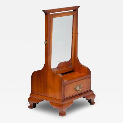 Cherry Chippendale Shaving Stand