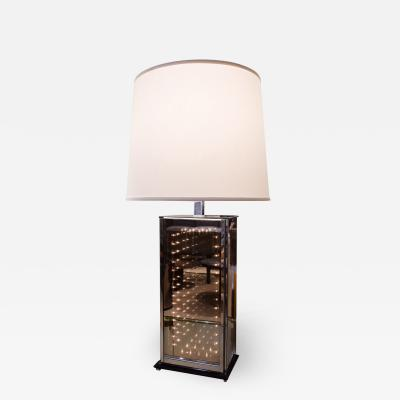 Chic Infinity Table Lamp 1970s