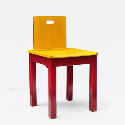 Child Chair Switzerland 1950s