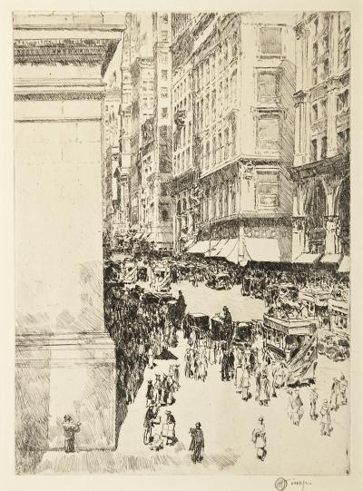 Childe Hassam Fifth Avenue Noon