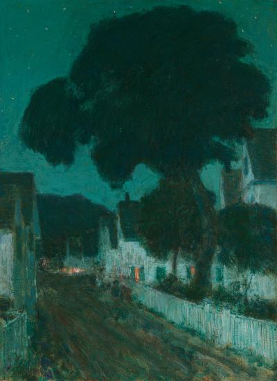 Childe Hassam Nocturne Provincetown