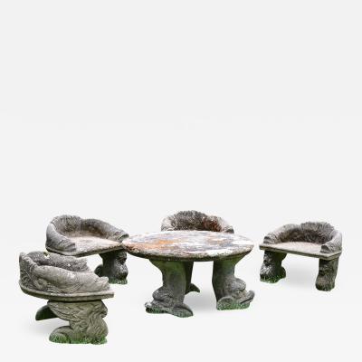 Childs Cast Stone Garden Suite