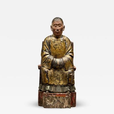 Chinese Ancestral Wood Carving