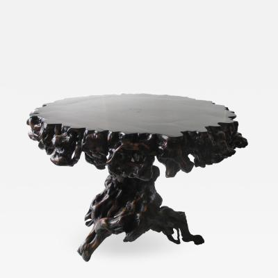 Chinese Antique Center Table of Root Wood