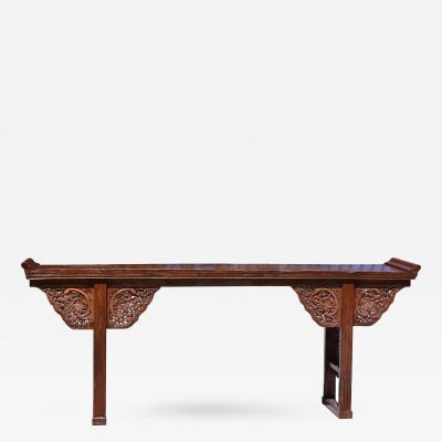 Chinese Antique Dragon Altar Table