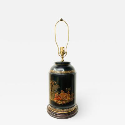 Chinese Black Tea Caddy Lamp