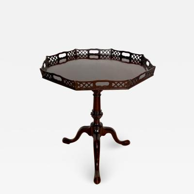 Chinese Chippendale Tea Table England Circa 1800