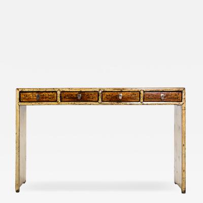 Chinese Console Table with Four Drawers
