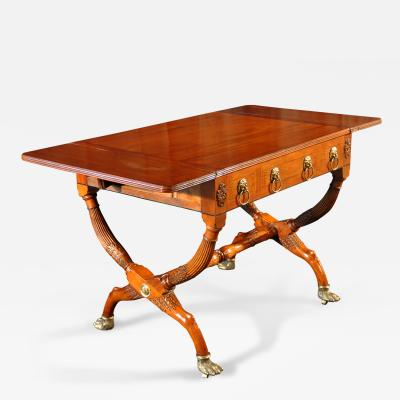 Chinese Export George IV Padouk Sofa Table