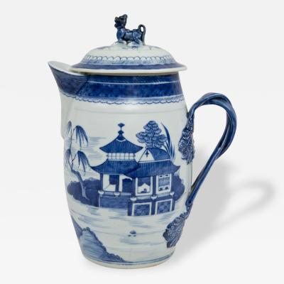Chinese Export Large Cider Jug