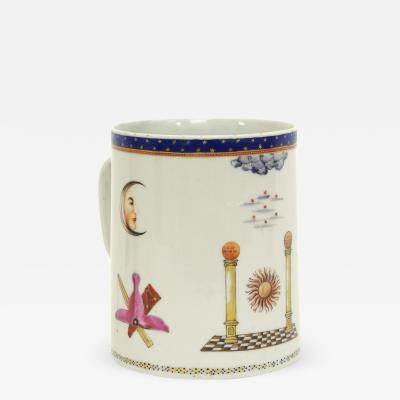 Chinese Export Masonic Mug c 1795