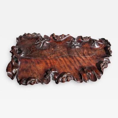Chinese Hardwood Tray