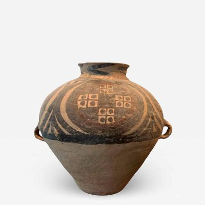 Chinese Neolithic Painted Pottery Jar Yaoshao Culture