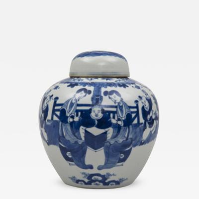 Chinese Porcelain Vase and Cover Circa 1890
