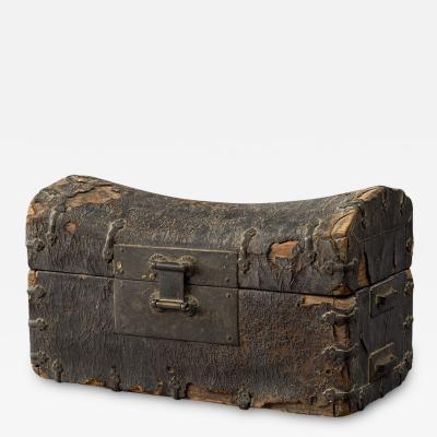 Chinese Yuan Dynasty Traveling Pillow Box