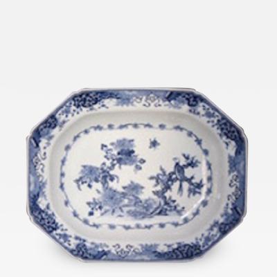 Chinese export deep platter