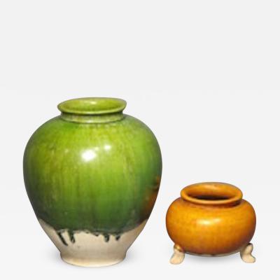 Chinese pots